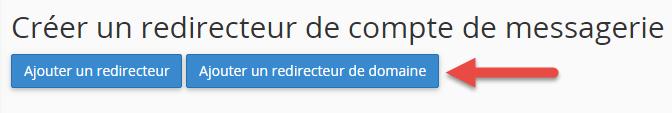 Ajout d'un redirecteur de mail sur l'ensemble d'un nom de domaine