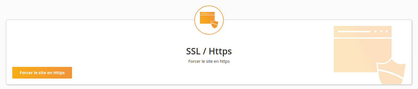 Section SSL/Https dans WP Tiger