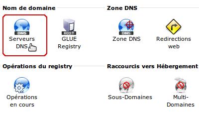 Serveurs DNS